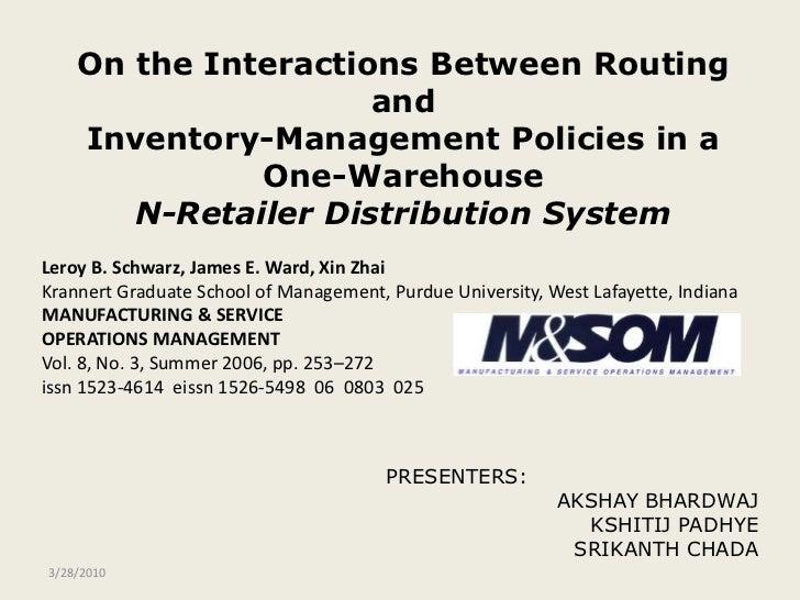 PRESENTERS:<br />AKSHAY BHARDWAJ<br />KSHITIJ PADHYE<br />SRIKANTH CHADA<br />4/16/2009<br />On the Interactions Between R...
