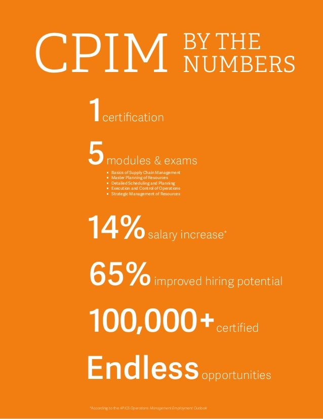 CPIM, CPSM what's the difference | Supply Chain Education