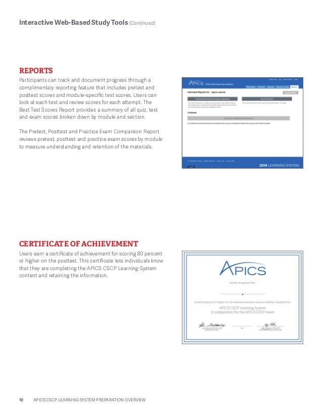 apics cscp study material pdf