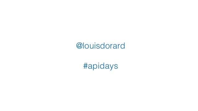 @louisdorard #apidays