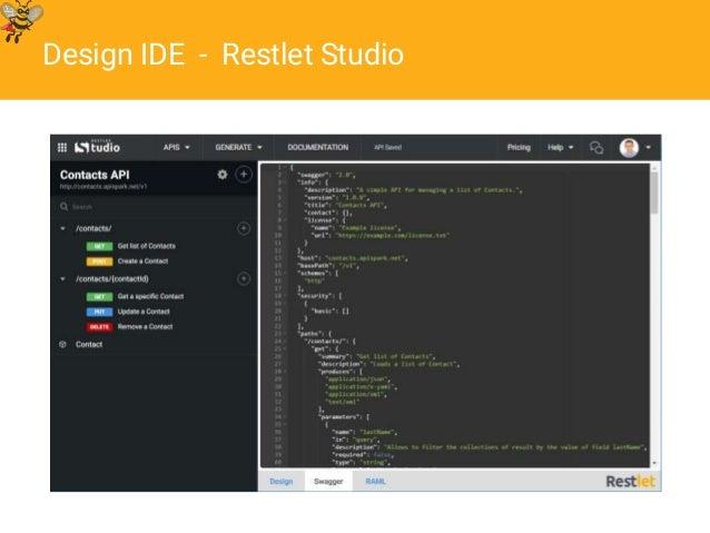 Apidays 2016 the state of web api languages restlet 2016 design ide restlet studio malvernweather Image collections