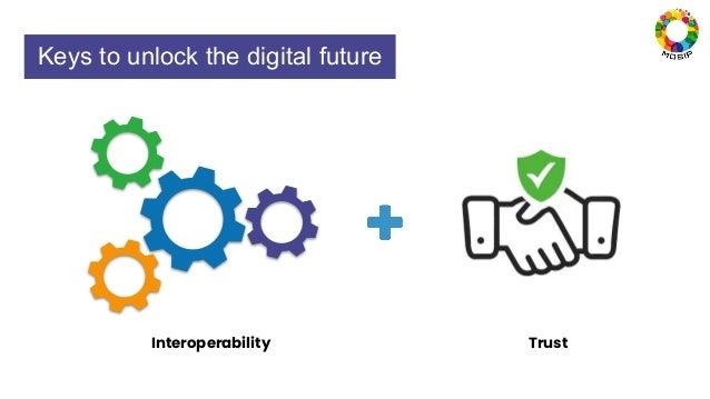 Keys to unlock the digital future Interoperability Trust