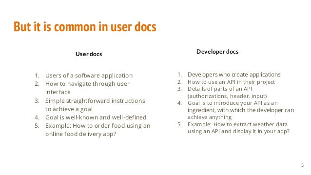 But it is common in user docs 1. Users of a software application 2. How to navigate through user interface 3. Simple strai...