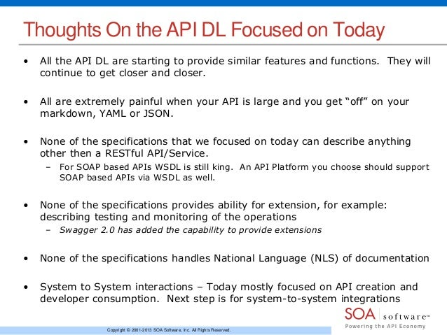 Api description languages which is the right one for me 28 malvernweather Choice Image