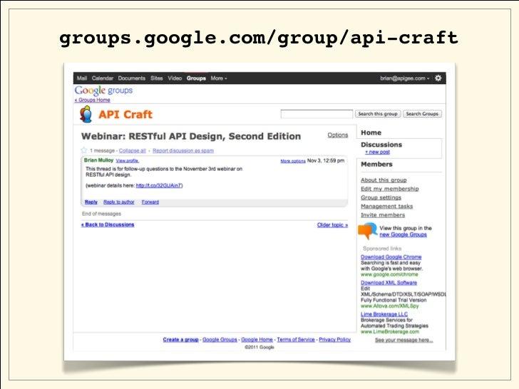 groups.google.com/group/api-craft