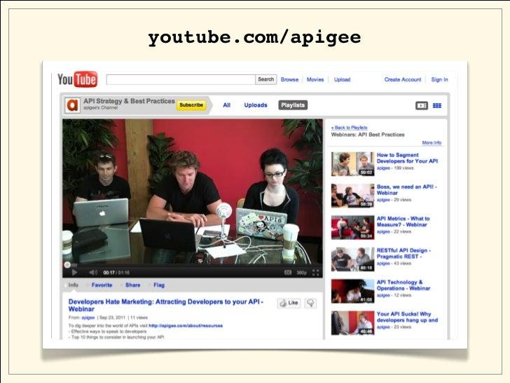 youtube.com/apigee