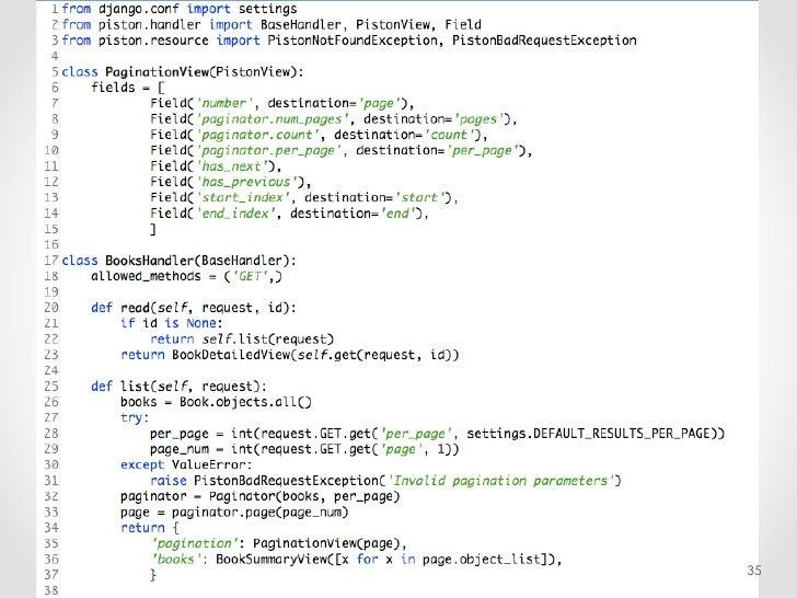 API Design & Security in django