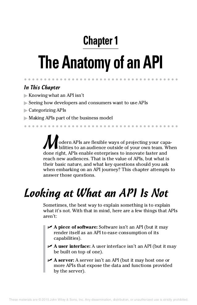 api for dummies