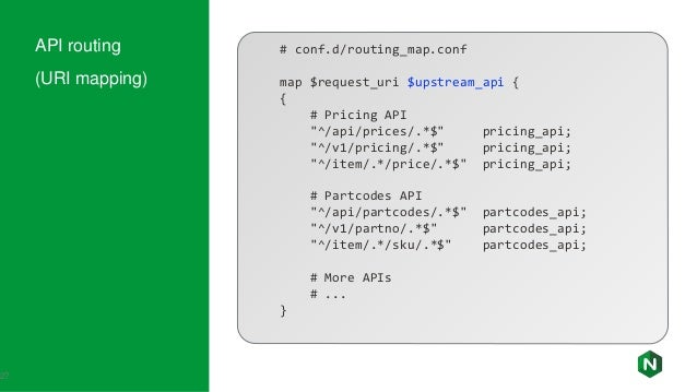 API Gateway: Nginx way