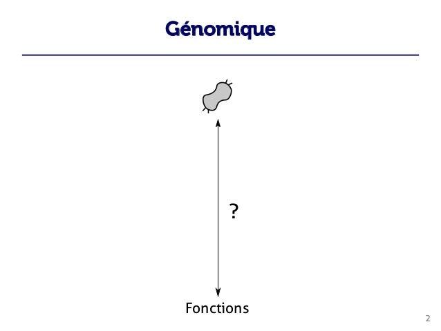 Génomique 2  