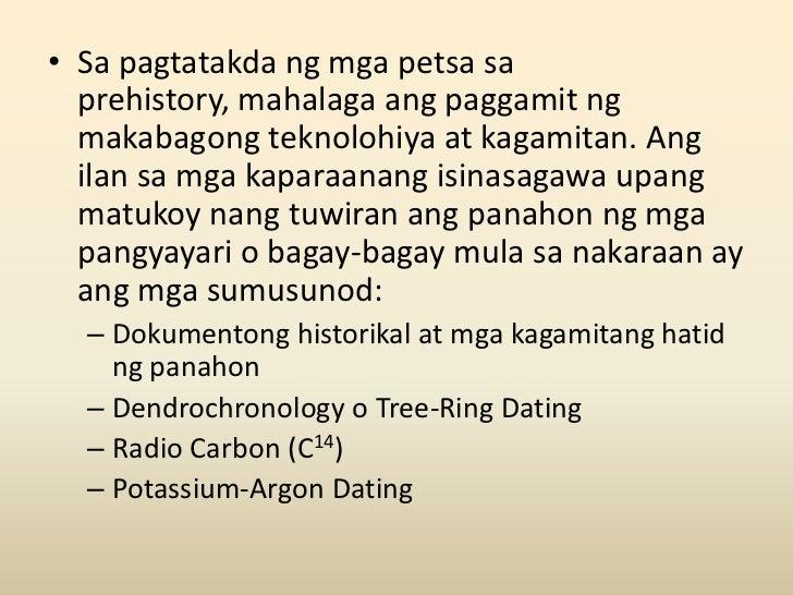 potassium argon dating