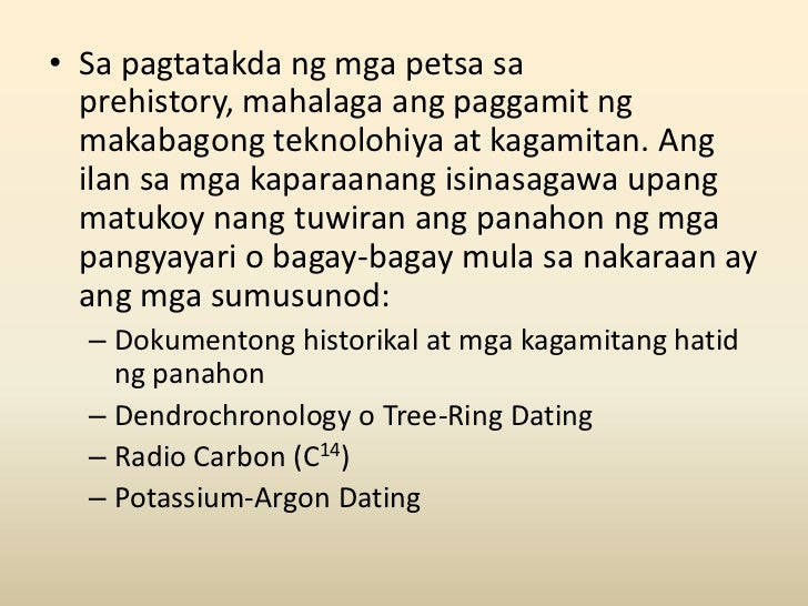Ano ang kahulugan ng potassium argon dating