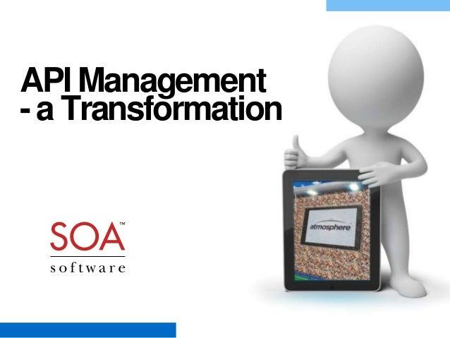 API Management - a Transformation