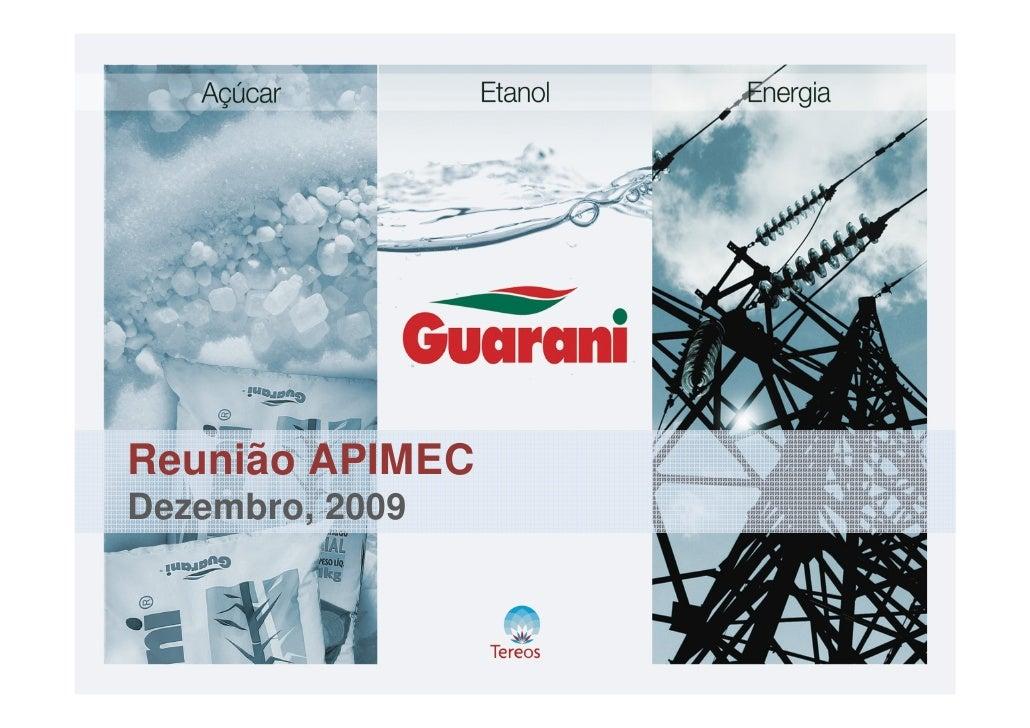Reunião APIMEC Dezembro, 2009
