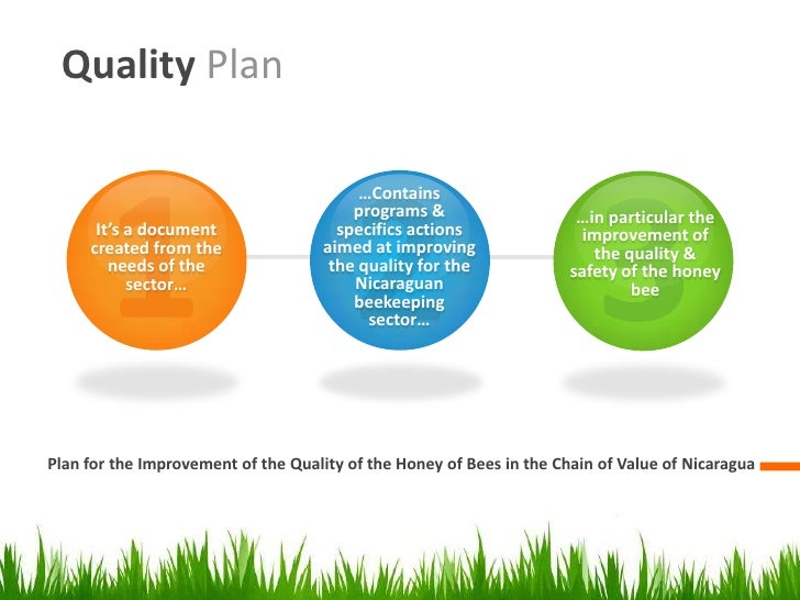 Design Of Quality Plan