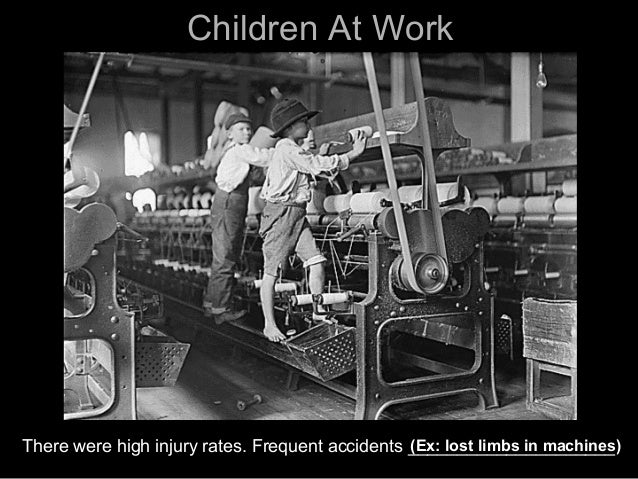 Dangerous Factory Workers Industrial Revolution