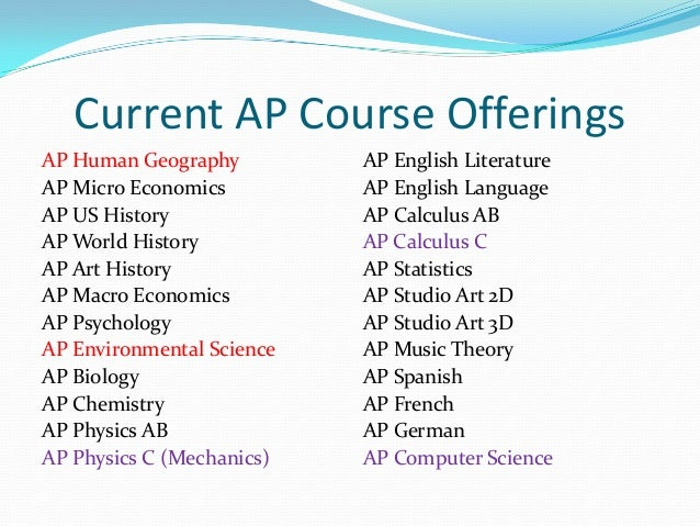 Computer Science Is To Biology What Calc By Harold: Ap Information Night 2