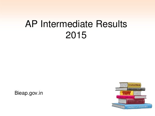 AP Intermediate Results 2015 Bieap.gov.in