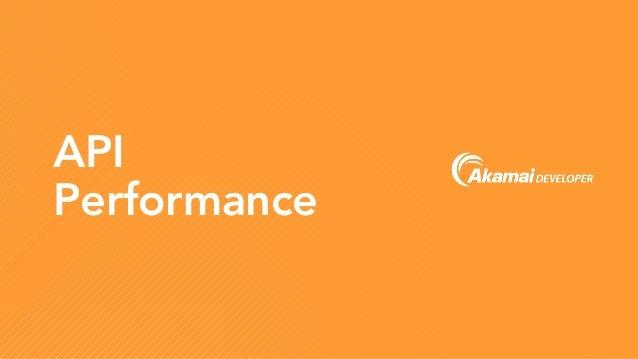 API Performance