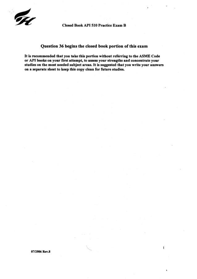 Api practice questions