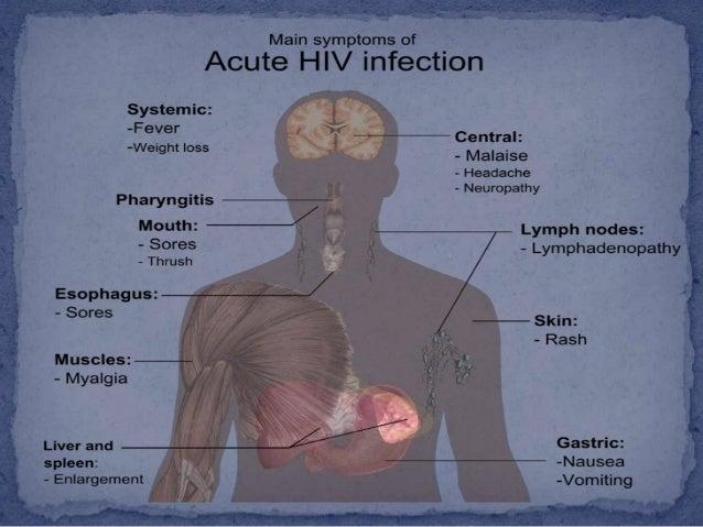 Infecção viral     Através da ligação    da GP 120 (vírus) ao        CD4 e CCR5    (célula hospedeira)•                   ...