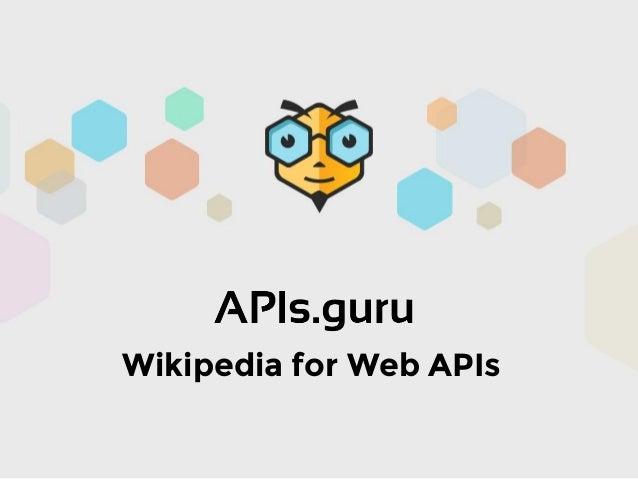 Wikipedia for Web APIs