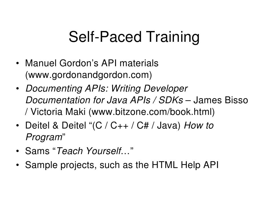How To Write Technical Documentation For APIs