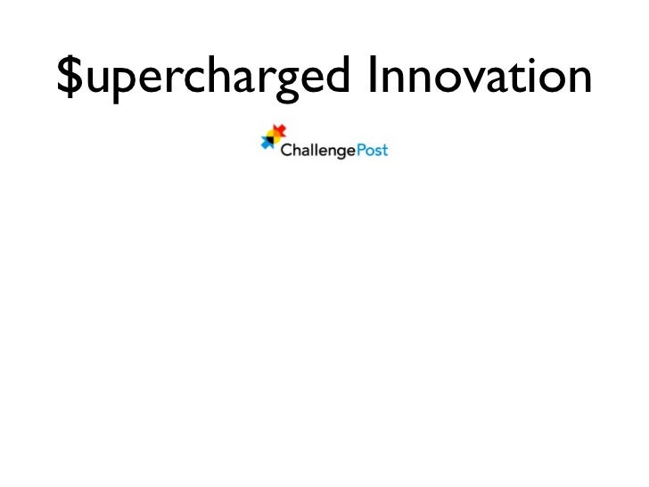 $upercharged Innovation