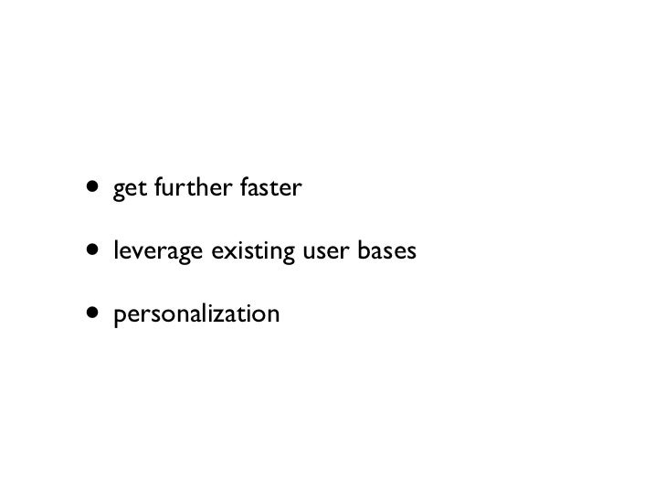 Why Not Use API?