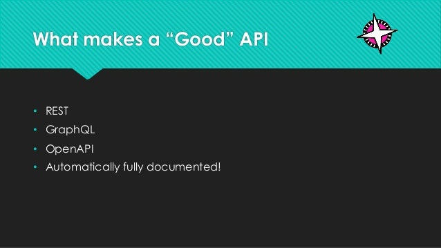 APIs are for People Too Slide 2