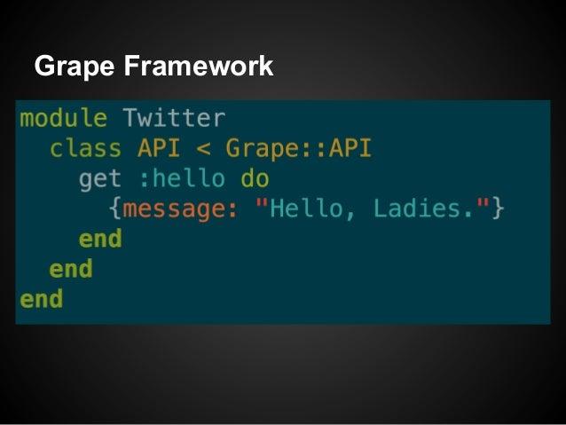 Grape Framework