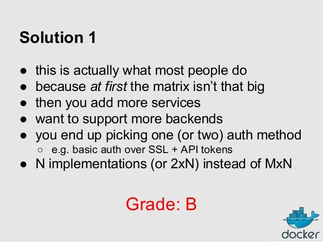 Solution 1 ● ● ● ● ●  this is actually what most people do because at first the matrix isn't that big then you add more se...