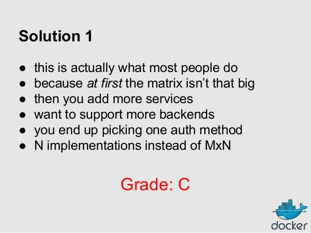 Solution 1 ● ● ● ● ● ●  this is actually what most people do because at first the matrix isn't that big then you add more ...