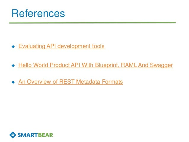 Another api blueprint raml and swagger comparison try corresponding tools for swagger 14 references evaluating api malvernweather Choice Image