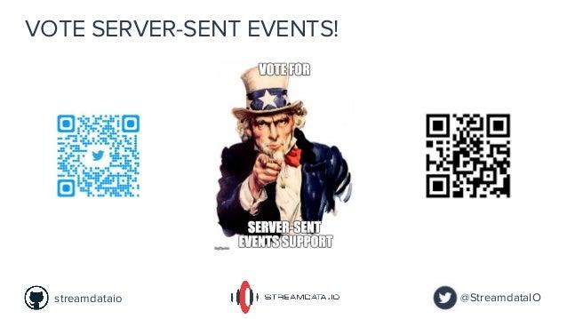 VOTE SERVER-SENT EVENTS! @StreamdataIOstreamdataio