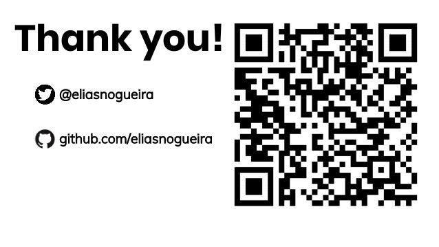 Thank you! @eliasnogueira github.com/eliasnogueira