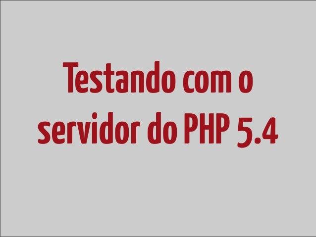 php -S localhost:8080