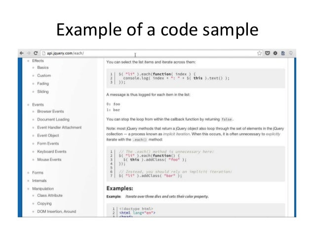 API Workshop: Deep dive into code samples