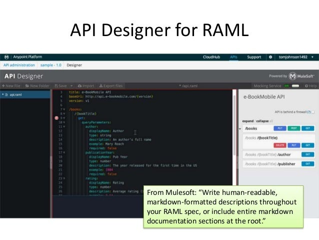 Api workshop deep dive into rest apis api designer for raml malvernweather Choice Image