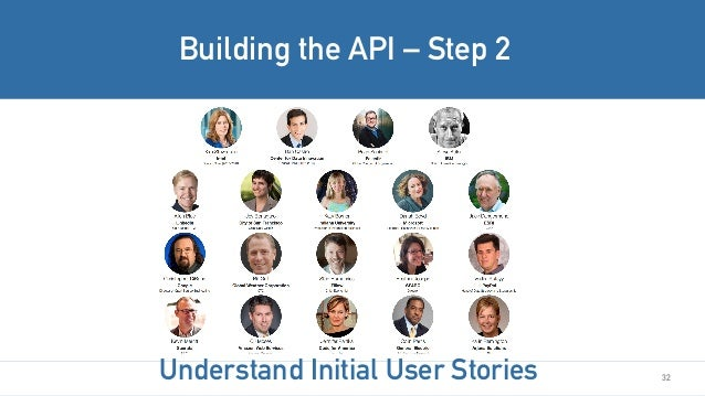32 Building the API – Step 2 Understand Initial User Stories