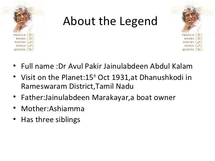 Apj Abdul Kalam History In English Pdf