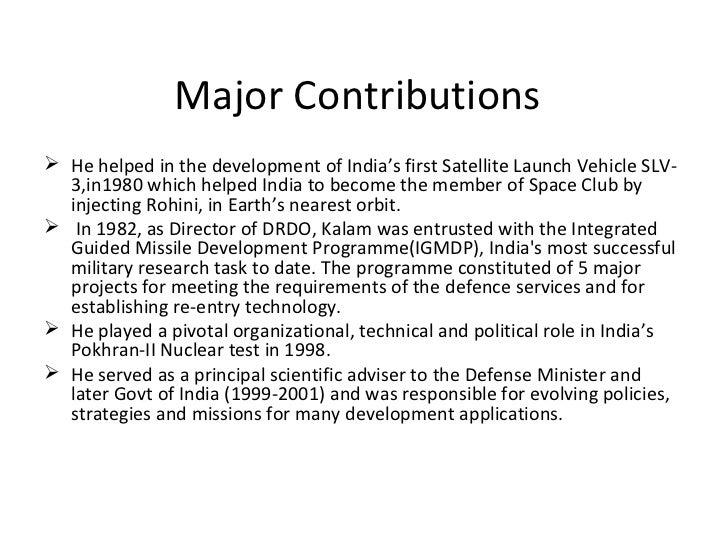 contribution of apj abdul kalam pdf
