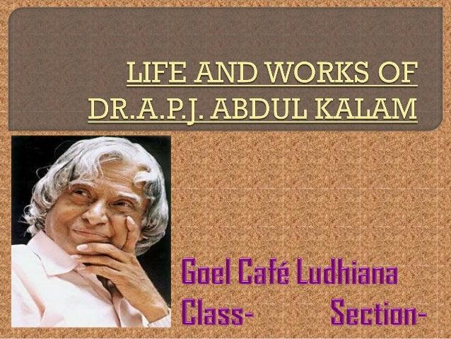Avul Pakir Jainulabdeen Abdul Kalam was born on 15 TH October 1931 in Rameswaram, Tamil Nadu. His father Jainulabdeen was ...