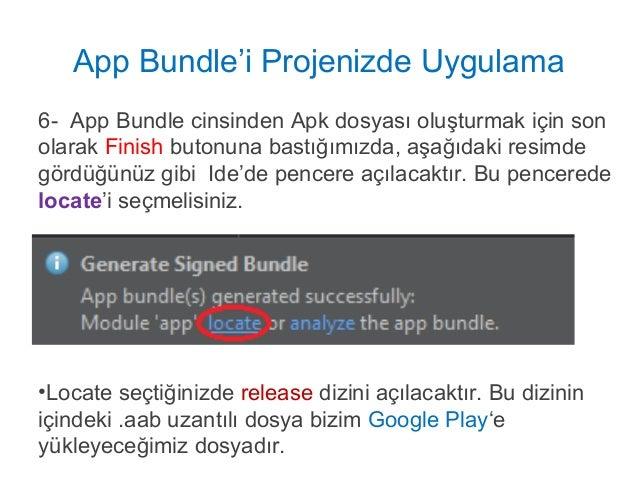 Apk Optimize Etme - App Bundles