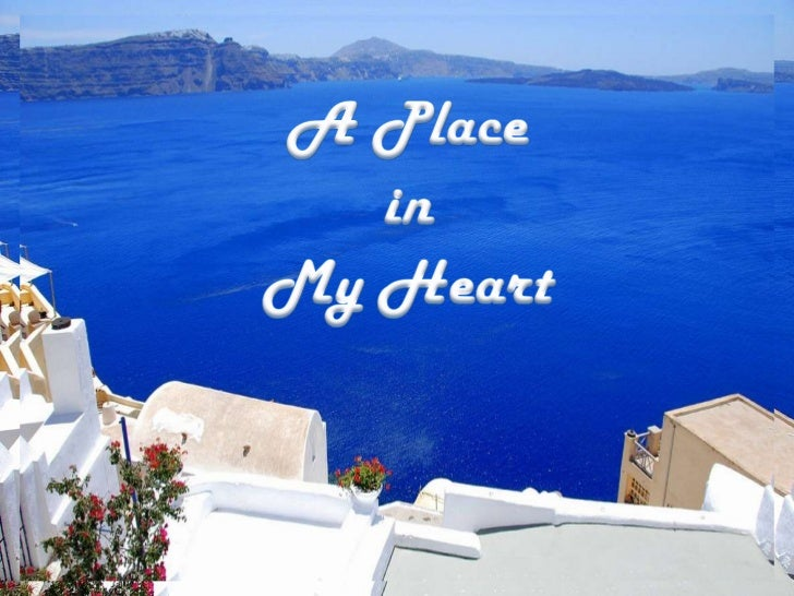 A Place <br />in <br />My Heart<br />