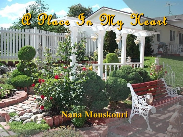 A Place In My Heart Nana Mouskouri 20/12/11