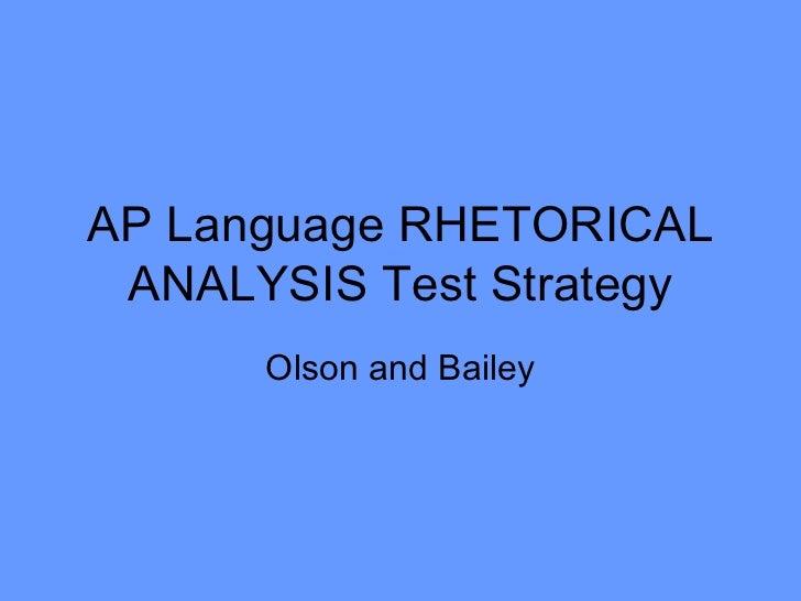 Possible Rhetorical Analysis Essay Topic | Alissa Janoski