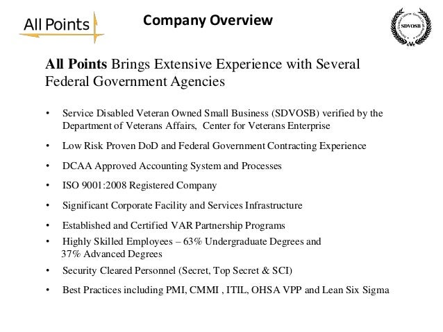 All Points Capabilities Presentation For Government