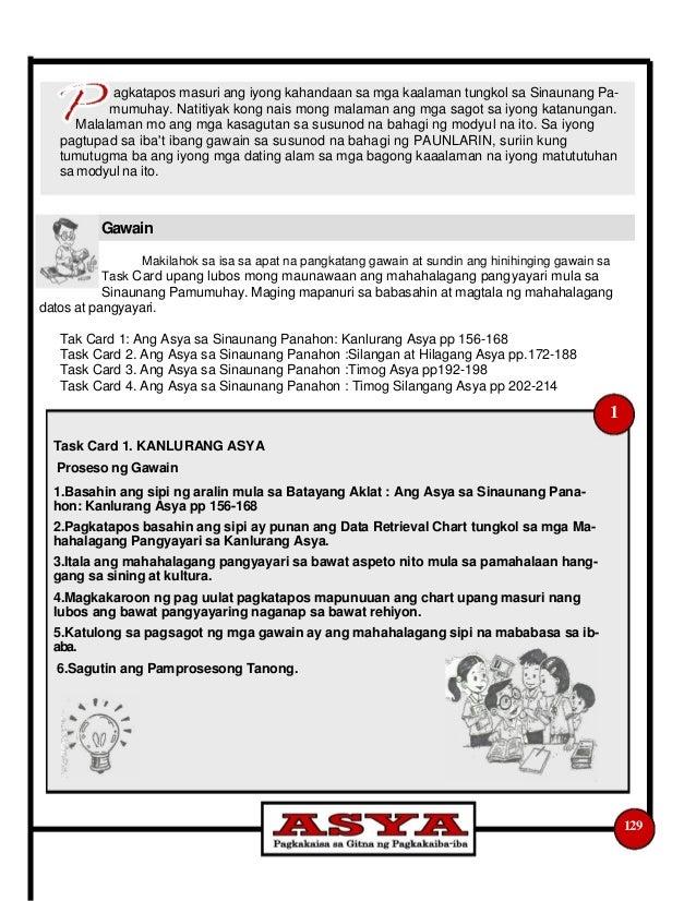 K to 12 grade 8 araling panlipunan learners module quarter 2 129 36 mga puna sa mahahalagang fandeluxe Image collections