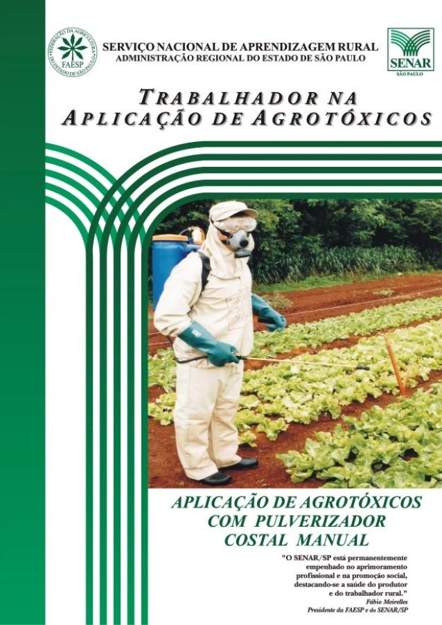 FEDERAÇÃO DA AGRICULTURA DO ESTADO DE SÃO PAULO22222 TRABALHADORNAAPLICAÇÃO DEAGROTÓXICOS FEDERAÇÃO DA AGRICULTURA DO ESTA...